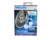Комплект светодиодов Philips X-treme Ultinon 12953BWX2 (H4)