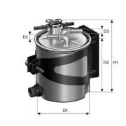 Топливный фильтр PURFLUX FCS740