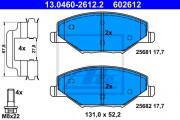 Тормозные колодки ATE 13.0460-2612.2