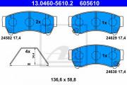 Гальмівні колодки ATE 13.0460-5610.2