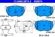 Тормозные колодки ATE 13.0460-5874.2