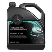 Оригінальна моторна олива Mercedes-Benz AMG High Performance Engine Oil 0W-40 (MB 229.5) 000989930213, 000989930211