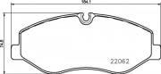Тормозные колодки BREMBO P50129