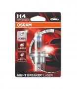 Osram Лампа галогенная Osram Night Breaker Laser 64193 NBL-01B +130% (H4)