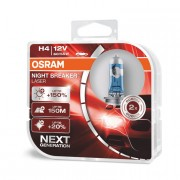 Комплект галогенных ламп Osram Night Breaker Laser 64193 NBL Duobox +150% (H4)