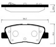Тормозные колодки HSB HP0046