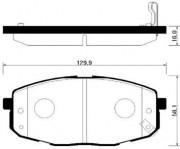 Тормозные колодки HSB HP1020