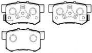 Тормозные колодки HSB HP8163