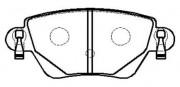 Тормозные колодки HSB HP9507
