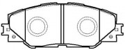 Тормозные колодки HSB HP5177