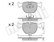 Тормозные колодки METELLI 22-0559-0