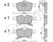 Тормозные колодки METELLI 22-0539-0