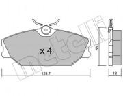 Гальмівні колодки METELLI 22-0142-2