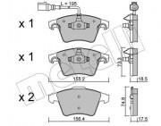 Тормозные колодки METELLI 22-0552-1