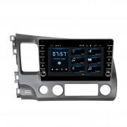 Штатная магнитола Incar DTA-0112R DSP для Honda Civic 2007-2011 (Android 10)