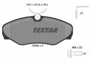 Тормозные колодки TEXTAR 2309902