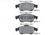 Тормозные колодки TEXTAR 2491401