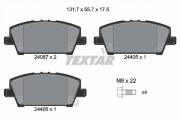 Тормозные колодки TEXTAR 2408701