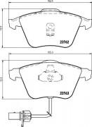 Гальмівні колодки TEXTAR 2376201