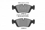 Тормозные колодки TEXTAR 2328702