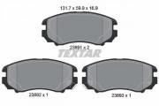 Тормозные колодки TEXTAR 2389101