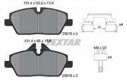 Тормозные колодки TEXTAR 2391508