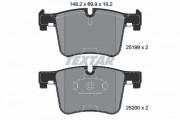 Тормозные колодки TEXTAR 2519901