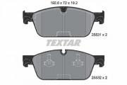 Тормозные колодки TEXTAR 2553101