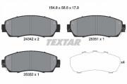 Тормозные колодки TEXTAR 2434201