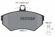 Тормозные колодки TEXTAR 2194502