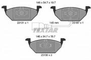 Тормозные колодки TEXTAR 2313101