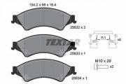 Тормозные колодки TEXTAR 2563201