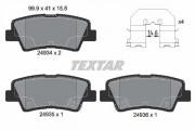 Тормозные колодки TEXTAR 2493401