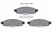 Тормозные колодки TEXTAR 2410601