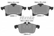 Тормозные колодки TEXTAR 2383201