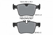 Гальмівні колодки TEXTAR 2214101