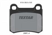 Гальмівні колодки TEXTAR 2068703