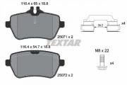 Тормозные колодки TEXTAR 2507101