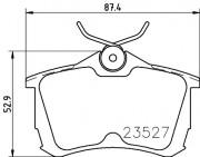 Тормозные колодки TEXTAR 2352701