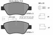 Тормозные колодки TEXTAR 2370502