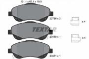 Тормозные колодки TEXTAR 2376802