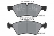 Тормозные колодки TEXTAR 2392201