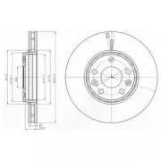 Тормозной диск DELPHI BG4264