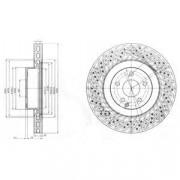 Тормозной диск DELPHI BG9057