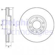 Гальмівний диск DELPHI BG3713C