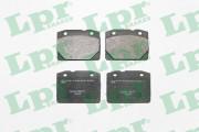 Тормозные колодки LPR 05P127