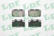 Тормозные колодки LPR 05P190