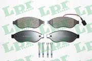Тормозные колодки LPR 05P1287