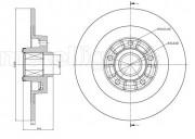 Тормозной диск METELLI 23-0980