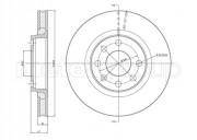 Тормозной диск METELLI 23-0166